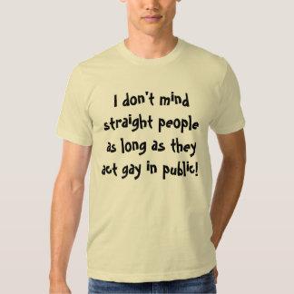 Act Gay T-shirt