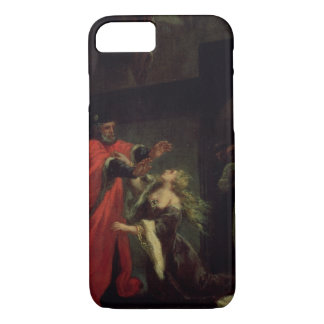 Act I, scene 3: Desdemona kneeling at her father's iPhone 8/7 Case