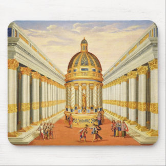 Act I, scenes VII and VIII: Baccus' Temple Mouse Pad