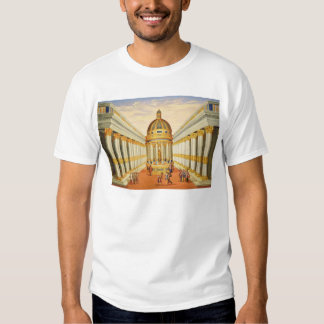 Act I, scenes VII and VIII: Baccus' Temple T-shirt