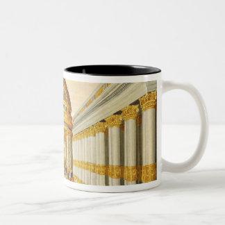 Act I, scenes VII and VIII: Baccus' Temple Two-Tone Coffee Mug