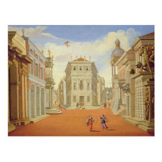 Act II, scenes I and VIII Postcard