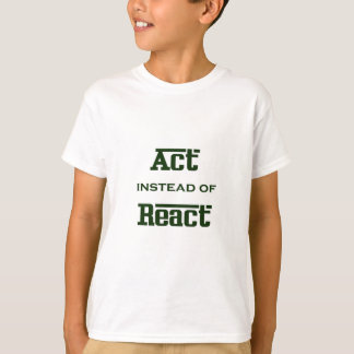 Act instead of React T-Shirt