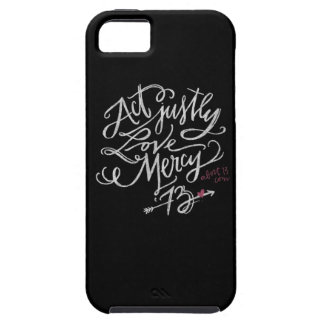 Act Justly. Love Mercy. / Abort73.com iPhone 5 Cases