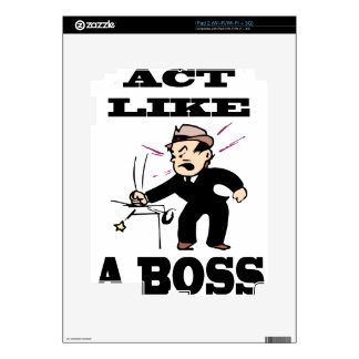 act like a boss skins for the iPad 2