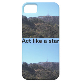 Act Like A Hollywood Star iPhone SE/5/5s Case