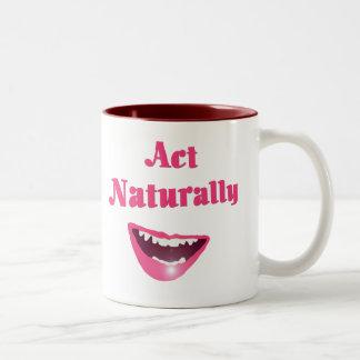 Act Naturally Mug