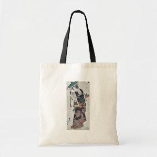 Act nine of the Chūshingura by Katsushika, Hokusai Tote Bags