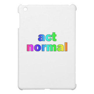 Act Normal Rainbow Cover For The iPad Mini