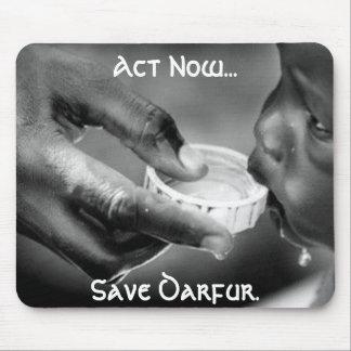 Act Now...Save Darfur. Mouse Pad