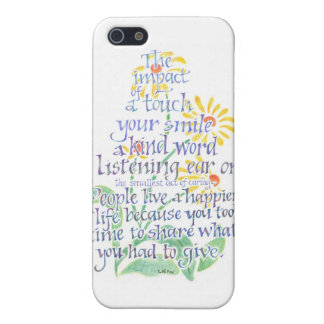 Act of Caring iPhone Case iPhone 5/5S Cases