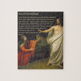 Act of Contrition Prayer Puzzle