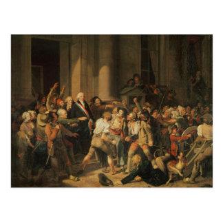 Act of Courage of Monsieur Defontenay Postcard