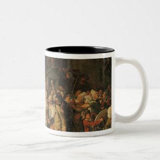 Act of Courage of Monsieur Defontenay Two-Tone Coffee Mug