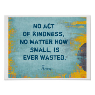 Act of Kindness - Art Print