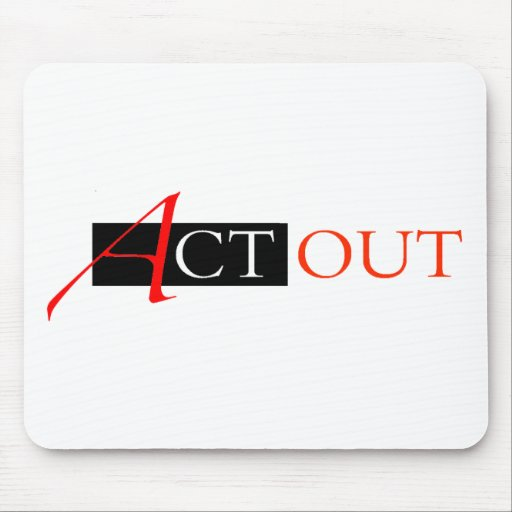 Act Out Mouse Pad