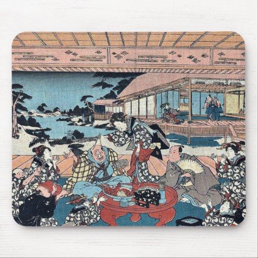 Act Seven by Utagawa, Toyokuni Ukiyoe Mouse Pad