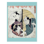 Act seven of the Chushingura by Kitagawa, Utamaro Postcard