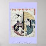 Act seven of the Chushingura by Kitagawa, Utamaro Print