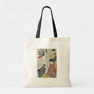 Act Two from the chushingura by Kitagawa, Utamaro Canvas Bag