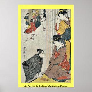 Act Two from the chushingura by Kitagawa, Utamaro Posters