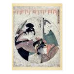 Act two of the Chushingura by Kitagawa, Utamaro Uk Post Card