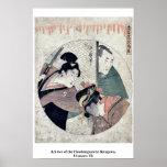 Act two of the Chushingura by Kitagawa, Utamaro Uk Posters