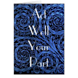 Act Well Your Part Greeting Card