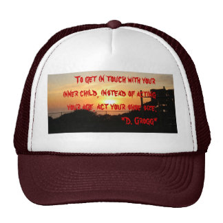 Act your shoe size trucker hat