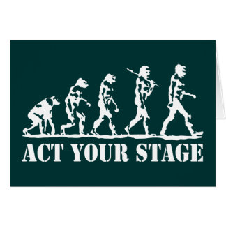 Act Your Stage Card