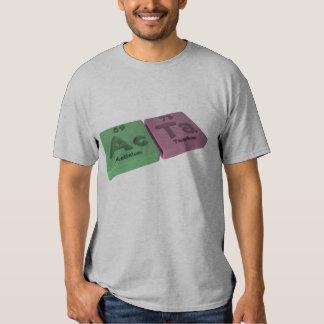 Acta as Ac Actinium and Ta Tantalum T-Shirt