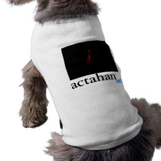 actahan strings/brane pet shirt