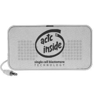 ACTC Inside Single Cell Blastomere Tech Speakers