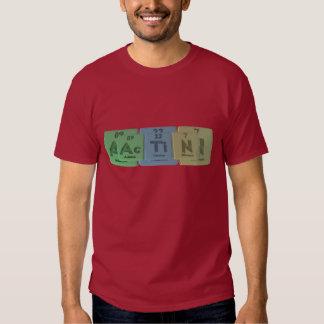 Actin-Ac-Ti-N-Actinium-Titanium-Nitrogen T-Shirt