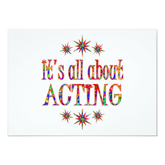 ACTING CARD