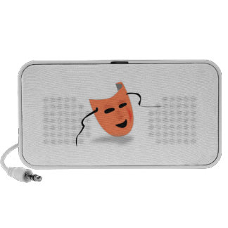 Acting Mask iPod Speakers