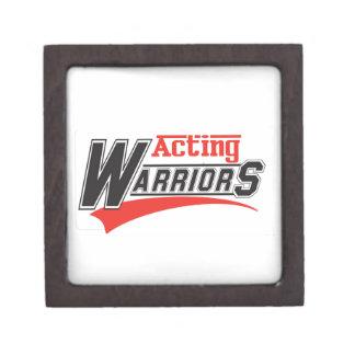 Acting  warriors design premium keepsake box