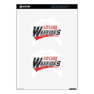 Acting  warriors design xbox 360 controller decal