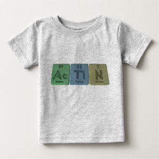 Actinia-CA-Ti-n-actinio-titanio-Nitrógeno Playeras