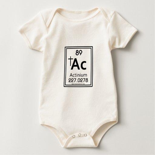Actinio 89 mameluco de bebé