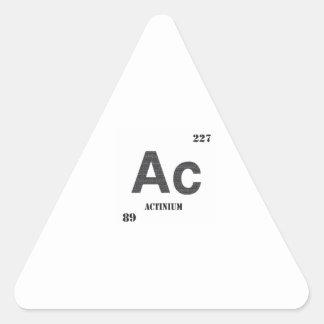 Actinio Colcomanias Trianguladas Personalizadas