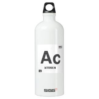 Actinium Aluminum Water Bottle