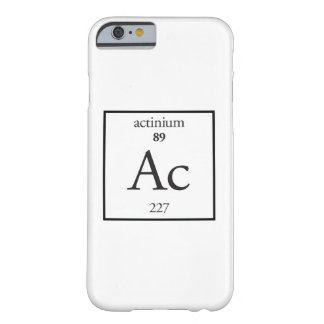 Actinium Barely There iPhone 6 Case