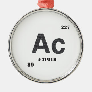 Actinium Metal Ornament