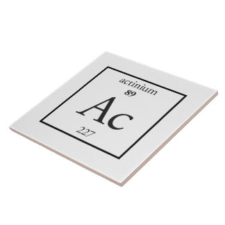 Actinium Tile