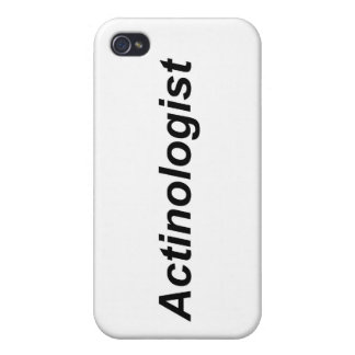 Actinologist Covers For iPhone 4