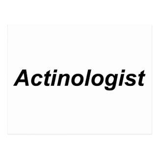 Actinologist Postcard
