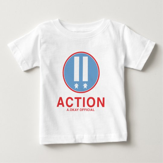 Action A.Okay Official Baby T-Shirt
