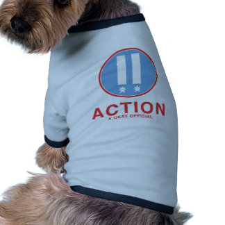 Action A.Okay Official Dog T-shirt