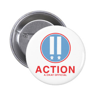 Action A.Okay Official Pins